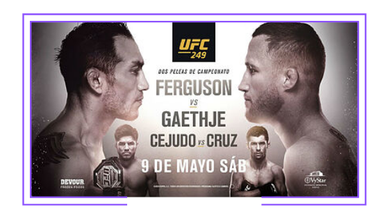 Global: UFC first sport to resume activity; in Latin America Disney and Globosat hold rights to televise fights