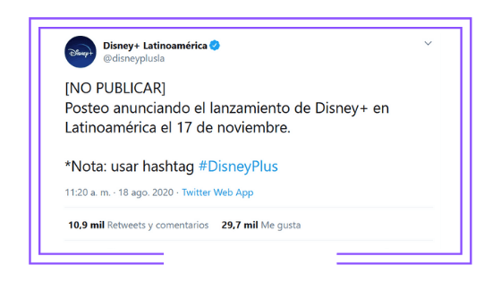 Latin America: Disney reveals definite Disney+ launch date