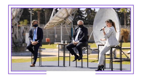 Argentina: Gobierno anuncia plan que incluye la recuperación de la TDT y un aumento de la conectividad a Internet