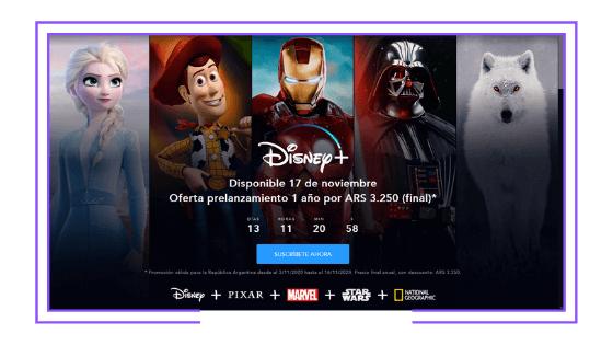 Latin America: Disney launches Disney+ annual subscription pre-sale
