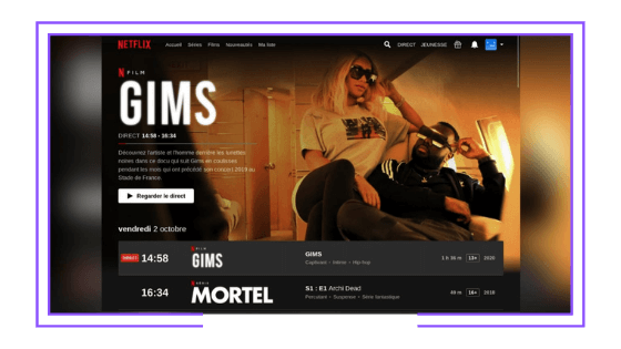 Global: Netflix launches its first linear channel