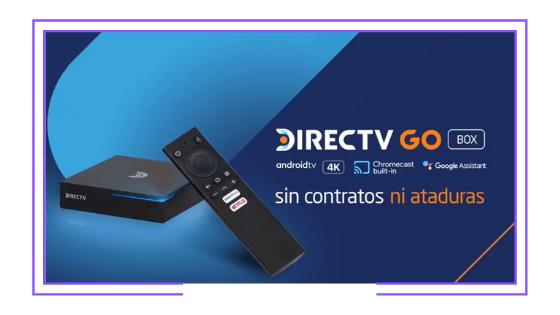 Chile: AT&T lanzó DirecTV Go Box: Un reproductor de streaming con un plan de TV Paga integrado