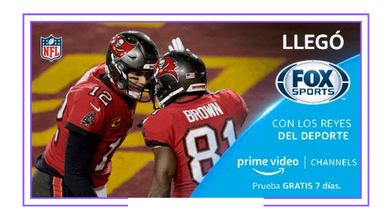 Mexico: Fox Sports launches OTT through Amazon Prime Video Channels