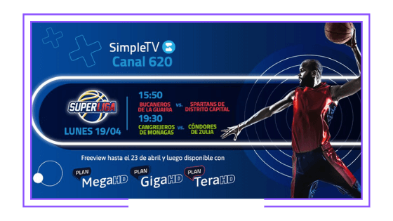 Venezuela: SimpleTV launches its own sports channel