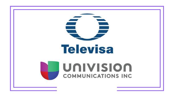 Global: Nace Televisa-Univision y su primer proyecto será el lanzamiento de una nueva plataforma de streaming